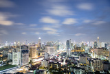 City Skyline at Night, Bangkok, Thailand, Southeast Asia, Asia Photographic Print by Alex Robinson