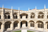 Courtyard of the Two-Storied Cloister, Mosteiro Dos Jeronimos (Monastery of the Hieronymites) Photographic Print by G&M Therin-Weise