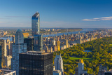 Central Park, One57 Building on Left, Midtown, Mahattan, New York Photographic Print by Alan Copson
