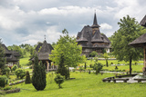 Barsana Monastery, One of the Wooden Churches of Maramures, UNESCO World Heritage Site Photographic Print by Matthew Williams-Ellis