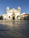 View of the Church of Santa Maria Located in the City of Lagos, Faro District, Algarve Photographic Print by Roberto Moiola