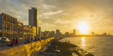 The Malecon, Havana, Cuba, West Indies, Caribbean, Central America Photographic Print by Alan Copson