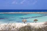 Baby Beach, San Nicolas, Aruba, Lesser Antilles, Netherlands Antilles, Caribbean, Central America Photographic Print by Jane Sweeney
