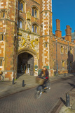 St. John's College Gate, Camrbridge University, Cambridge, Cambridgeshire, England Photographic Print by Alan Copson