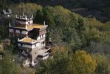 A Remote Village in the Sichuan Province, China, Asia Photographic Print by Alex Treadway
