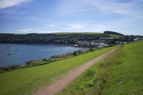 Coast Path to Kingsand and Cawsand, Rame Peninsula, Cornwall, England, United Kingdon, Europe Photographic Print by Rob Cousins