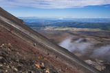 Mount Ngauruhoe Volcano Summit Climb, an Extra on the Tongariro Alpine Crossing Photographic Print by Matthew Williams-Ellis