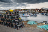 Sailing Boats and Crab Pots at Dusk in the Harbour at Anstruther, Fife, East Neuk Photographic Print by Andrew Sproule