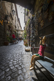A Typical Alley with Local Craft Shops, Orvieto, Terni Province, Umbria, Italy, Europe Photographic Print by Roberto Moiola