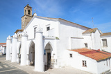 Santa Maria Da Feira Church, Beja. Alentejo, Portugal, Europe Photographic Print by G&M Therin-Weise