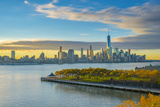 Manhattan, Lower Manhattan and World Trade Center Photographic Print by Alan Copson