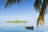 View of Kuramathi Island, Rasdhoo Island, Northern Ari Atoll, Maldives, Indian Ocean, Asia Photographic Print by Ian Trower