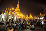 Shwedagon Pagoda, Yangon (Rangoon), Myanmar (Burma), Asia Photographic Print by Colin Brynn