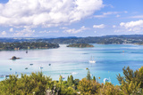 Bay of Islands Seen from Flagstaff Hill in Russell, Northland Region, North Island Photographic Print by Matthew Williams-Ellis