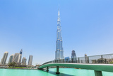 Dubai Burj Khalifa, Dubai City, United Arab Emirates, Middle East Photographic Print by Neale Clark