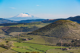 The Sicilian Landscape with the Awe Inspiring Mount Etna Photographic Print by Martin Child