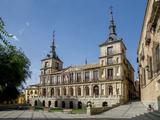City Hall, Plaza Del Ayuntamiento, Toledo, Castile-La Mancha, Spain, Europe Photographic Print by Charles Bowman
