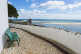 Cacelha Vela and Beach, Algarve, Portugal, Europe Photographic Print by G&M Therin-Weise