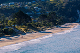 Hahei Beach on the Eastern Side of the Coromandel Peninsula Bathed in Late Afternoon Light, Waikato Photographic Print by Garry Ridsdale