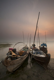 River Life, Irrawaddy River, Manadalay, Myanmar (Burma), Asia Photographic Print by Colin Brynn