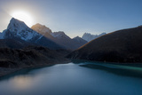Gokyo Lake in the Everest Region, Himalayas, Nepal, Asia Photographic Print by Alex Treadway