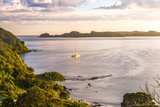 Bay of Islands at Sunrise, Seen from Russell, Northland Region, North Island, New Zealand, Pacific Photographic Print by Matthew Williams-Ellis