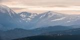 Carpathian Mountains at Ranca at Sunrise, Parang Mountains, Oltenia Region, Romania, Europe Photographic Print by Matthew Williams-Ellis