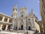 Basilica Della Santa Casa, Piazza Della Madonna, Pilgrimage Town of Loreto, Le Marche, Italy Photographic Print by Jean Brooks