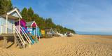 Wells-Next-The-Sea Beach, North Norfolk, England, United Kingdom, Europe Fotografisk tryk af Alan Copson