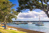 Sailing Boats in Russell Harbour, Bay of Islands, Northland Region, North Island, New Zealand Photographic Print by Matthew Williams-Ellis