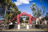 Maori Church, Waitangi Treaty Grounds, Bay of Islands, Northland Region, North Island Photographic Print by Matthew Williams-Ellis