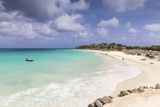 View of Divi Beach, Aruba, Lesser Antilles, Netherlands Antilles, Caribbean, Central America Photographic Print by Jane Sweeney