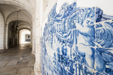 Walls Covered in Beautuful Azelejo Tiles on Display at the National Azulejo Museum in Lisbon Photographic Print by Alex Treadway