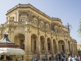 Palazzo Ducezio (Town Hall), UNESCO World Heritage Site, Noto, Sicily, Europe Photographic Print by Jean Brooks