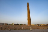 Minaret in Herat, Afghanistan, Asia Photographic Print by Alex Treadway