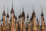 Kakku Pagoda Complex, Shan State, Myanmar (Burma), Asia Photographic Print by Colin Brynn