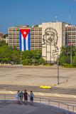 Plaza De La Revolucion, Vedado, Havana, Cuba, West Indies, Caribbean, Central America Papier Photo par Alan Copson