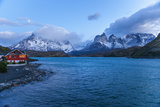 Pehoe Lake, Torres Del Paine National Park, Patagonia, Chile, South America Photographic Print by Pablo Cersosimo