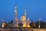 Dubai Jumeirah Mosque at Night, Dubai, United Arab Emirates, Middle East Photographic Print by Neale Clark