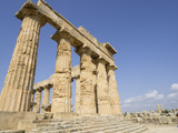 Temple of Selinunte, Sicily, Italy, Europe Photographic Print by Jean Brooks