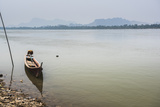 Motor Boat on Salween River (Thanlwin River), Hpa An, Karen State (Kayin State) Photographic Print by Matthew Williams-Ellis