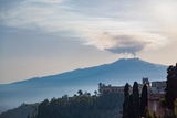 The Awe Inspiring Mount Etna, UNESCO World Heritage Site and Europe's Tallest Active Volcano Photographic Print by Martin Child