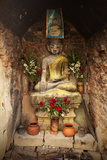 Buddhist Shrine, Nyaungshwe, Inle Lake, Shan State, Myanmar (Burma), Asia Photographic Print by Colin Brynn