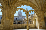 Manueline Ornamentation in the Cloisters of Mosteiro Dos Jeronimos (Monastery of the Hieronymites) Photographic Print by G&M Therin-Weise