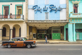 Avenida De Italia, Centro Habana, Havana, Cuba, West Indies, Caribbean, Central America Photographic Print by Alan Copson