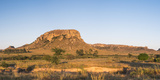 Mountains of Isalo National Park at Sunrise, Ihorombe Region, Southwest Madagascar, Africa Photographic Print by Matthew Williams-Ellis