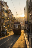 Tram in Lisbon, Portugal, Europe Photographic Print by Alex Treadway