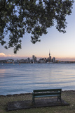 Auckland Skyline at Night Seen from Bayswater, Auckland, North Island, New Zealand, Pacific Photographic Print by Matthew Williams-Ellis
