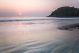 Paradise Beach at Sunset (Sar Sar Aw Beach), Dawei Peninsula, Tanintharyi Region Photographic Print by Matthew Williams-Ellis