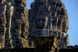 Bayon Temple, Built in 12th to 13th Century by King Jayavarman Vii, Angkor Photographic Print by Nathalie Cuvelier